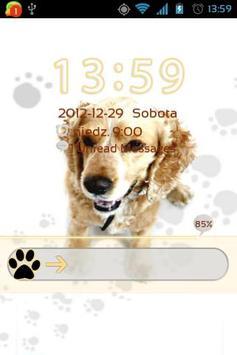 Cute Dog v2 - GO Locker Theme poster