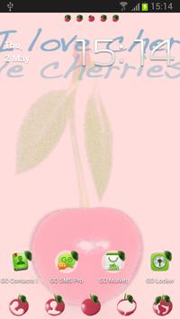 Theme Cherries for GO Launcher poster
