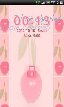 Cherries Theme for GO Locker apk screenshot