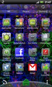 Theme Dark Elf for GO Launcher apk screenshot