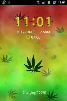 Ganja Weed Theme for GO Locker apk screenshot