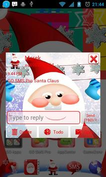 Santa Claus Theme for GO SMS poster