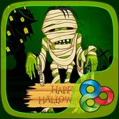 Creepy Mummy GO Launcher Theme icon