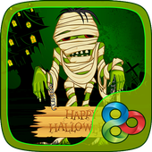 Creepy Mummy GO Launcher Theme icon