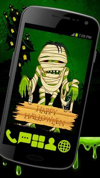 Creepy Mummy GO Launcher Theme poster