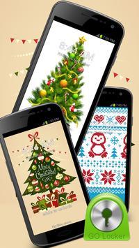 GO Locker Christmas Tree Theme poster