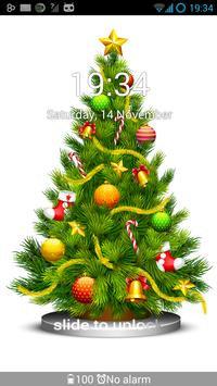 GO Locker Christmas Tree Theme screenshot 2