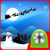 GO Locker Winter Santa Theme icon