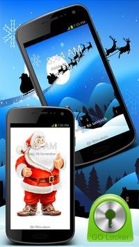 GO Locker Winter Santa Theme poster