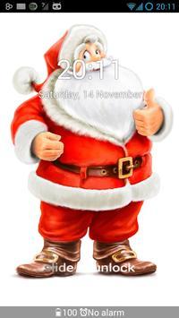 GO Locker Winter Santa Theme screenshot 2
