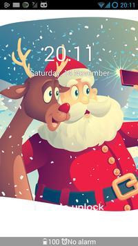 GO Locker Winter Santa Theme screenshot 3