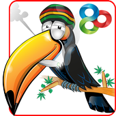 Weed Toucan GO Launcher Theme icon