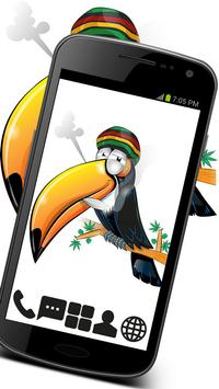 Weed Toucan GO Launcher Theme poster