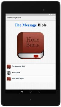 The Message Bible poster