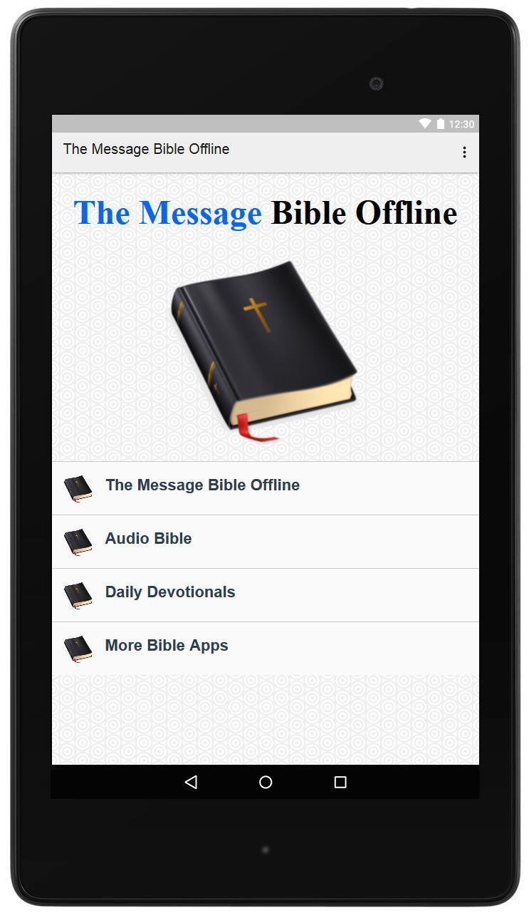 The Message Bible Offline for Android - APK Download