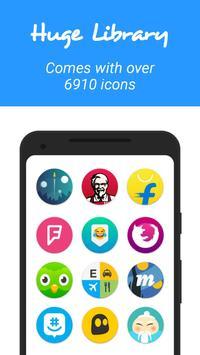 Schermata apk Pix UI Icon Pack 2 - Free Pixel Icon Pack