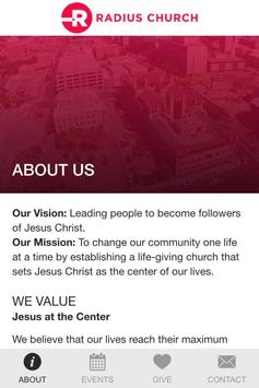 Radius Church poster