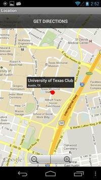 The University of Texas Club apk screenshot