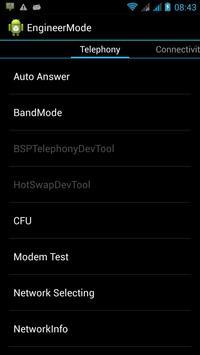 MTK Engineering Mode screenshot 1