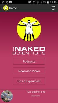The Naked Scientists App apk screenshot