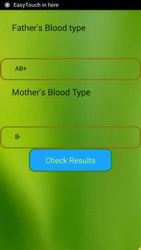 Blood Type Calculator poster
