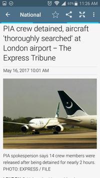 Pakistan News App apk screenshot