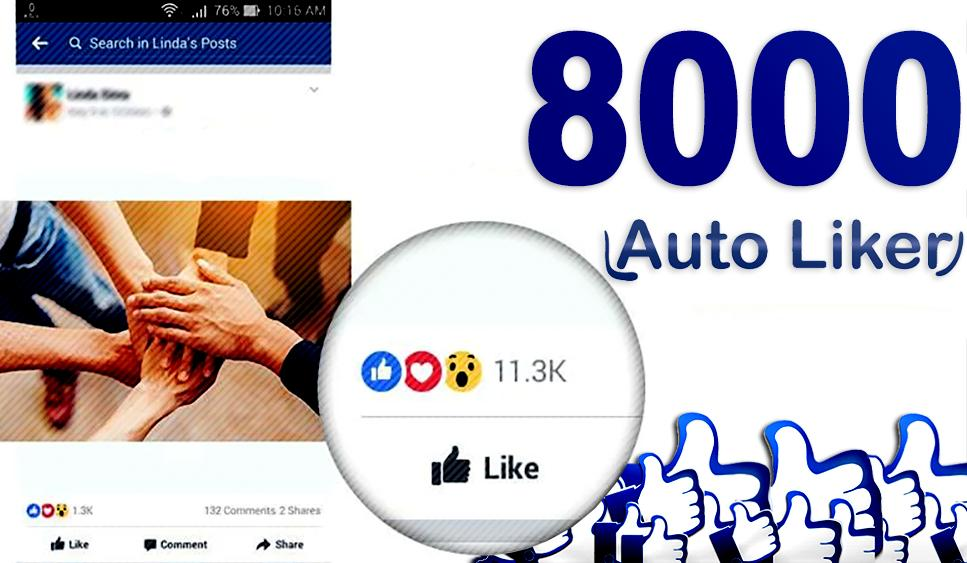8000 Liker : Unlimited Likes Auto Liker tips for Android - APK Download