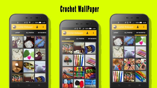 Crochet Wallpaper apk screenshot