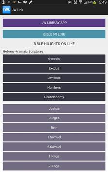 Jehovah's Witnesses Link screenshot 3