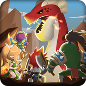 Dragon Warriors : Idle RPG icon