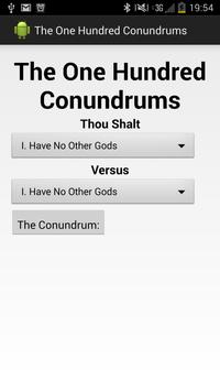 The One Hundred Conundrums poster