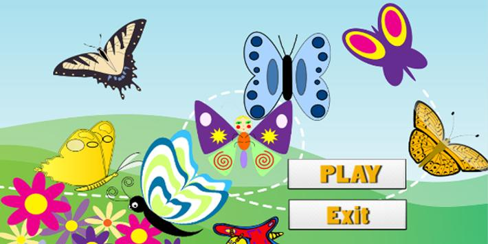 butterfly coloring book 360 screenshot 2