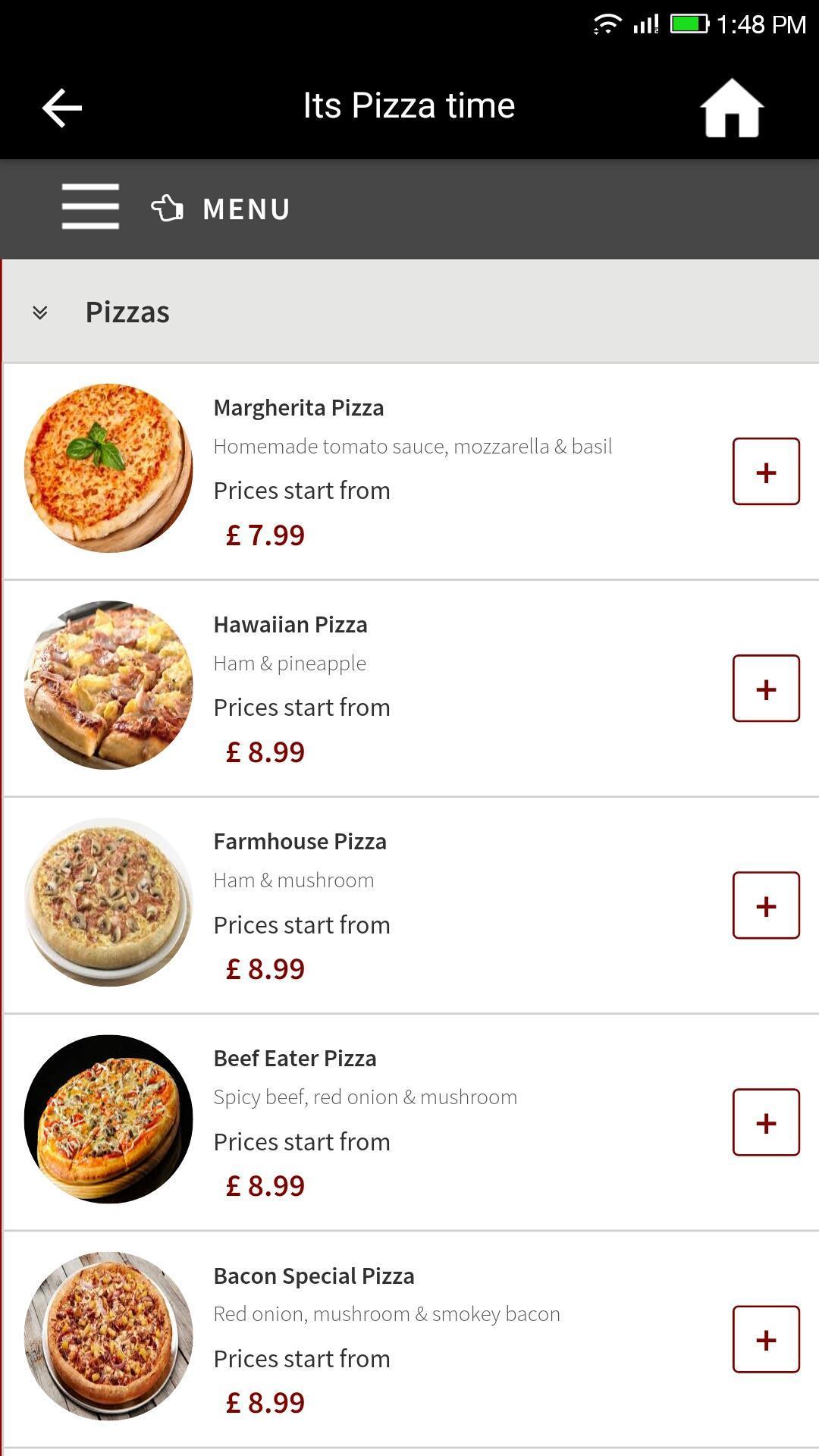 Farmhouse Pizza Wokingham