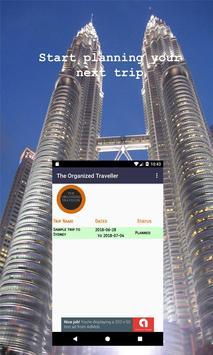 The Organized Traveller poster