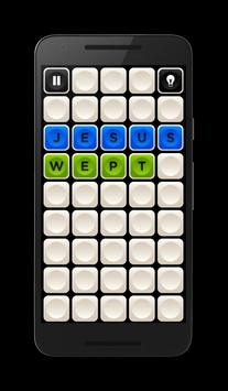 Jesus Word Puzzle apk screenshot