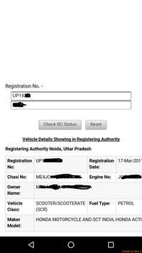 Vehicle Number Address Tracker apk screenshot