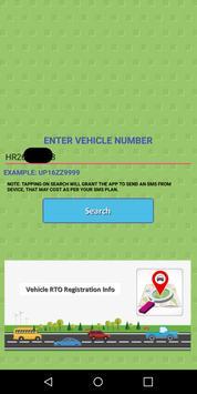 Vehicle RTO Registration Info apk screenshot