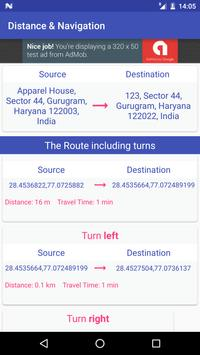 GPS Driving Route Finder screenshot 9
