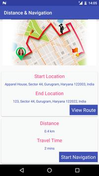 GPS Driving Route Finder screenshot 3