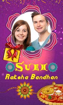 Raksha Bandhan HD Photo Frames poster