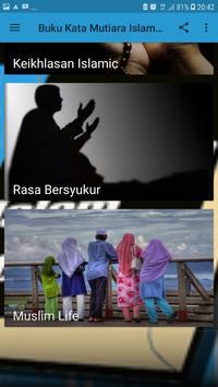 Buku Kata Mutiara Islam 2018 screenshot 3