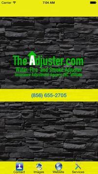 Adjuster poster