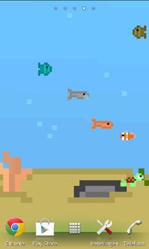 Pixelart Aquarium Wallpaper screenshot 1