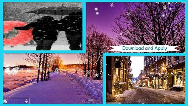 Winter Love Live Wallpaper HD poster