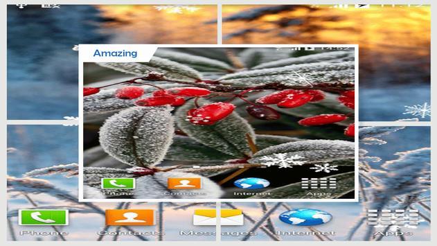 Winter Love Live Wallpaper HD apk screenshot