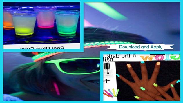 Cool Glow in the Dark Party Ideas screenshot 2
