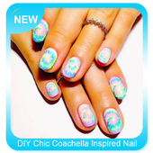 DIY Chic Coachella Inspired Nail Design icon
