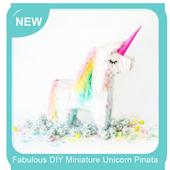 Fabulous DIY Miniature Unicorn Pinata icon