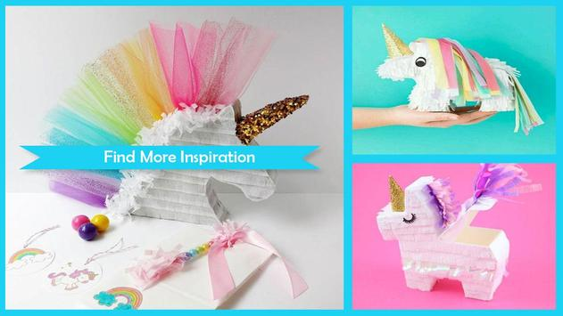 Fabulous DIY Miniature Unicorn Pinata screenshot 1