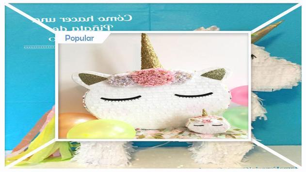 Fabulous DIY Miniature Unicorn Pinata screenshot 3